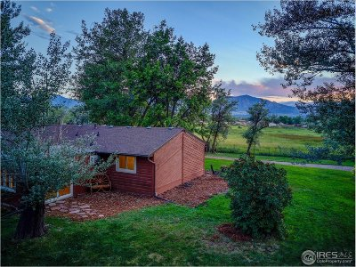 Boulder CO Single Family Home For Sale: $980,000