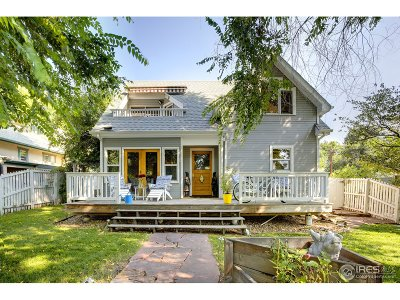 Boulder CO Single Family Home For Sale: $998,000