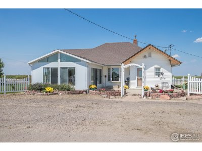 Weld County Single Family Home For Sale: 19970 County Road 57