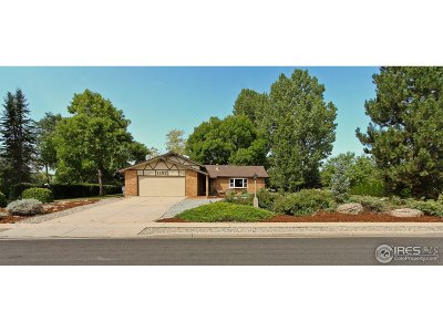 Longmont Single Family Home For Sale: 2305 Lake Park Dr