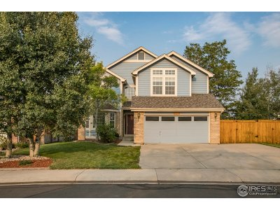 Fort Collins Single Family Home For Sale: 1514 Banyan Dr