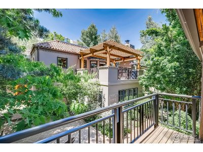 Boulder CO Single Family Home For Sale: $1,525,000