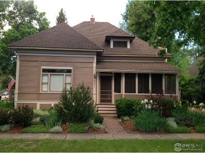 Fort Collins Single Family Home For Sale: 801 Laporte Ave
