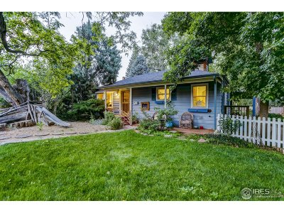 Boulder CO Single Family Home For Sale: $1,397,500