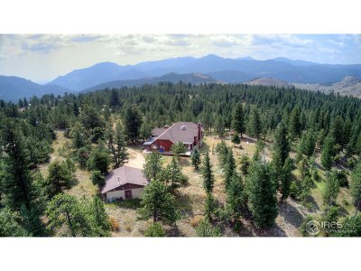 Boulder Single Family Home For Sale: 6894 Flagstaff Rd