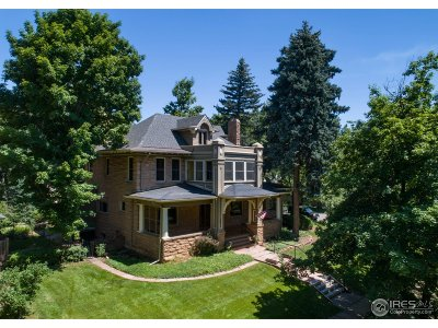Boulder Single Family Home For Sale: 541 Spruce St