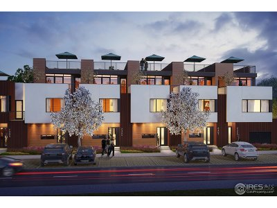 Boulder Condo/Townhouse For Sale: 2304 Pearl St #1