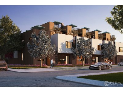 Boulder Condo/Townhouse For Sale: 2304 Pearl St #2