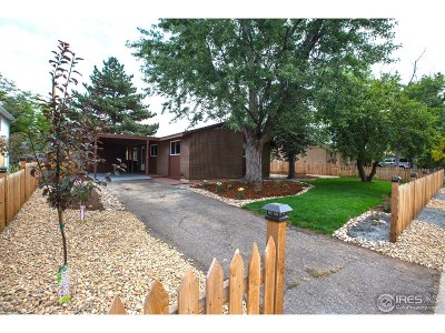 Boulder Single Family Home For Sale: 1140 Hartford Dr