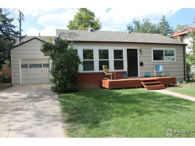 Boulder Single Family Home For Sale: 335 27th St