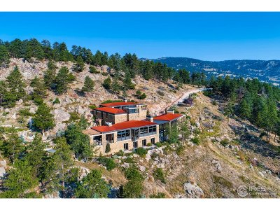 Boulder Single Family Home For Sale: 4322 Sunshine Canyon Dr