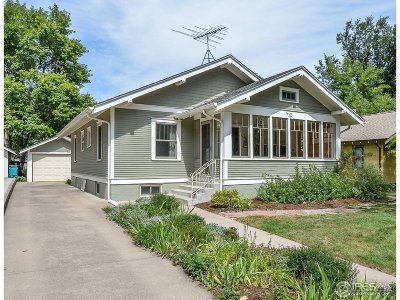 Fort Collins Single Family Home For Sale: 712 W Oak St