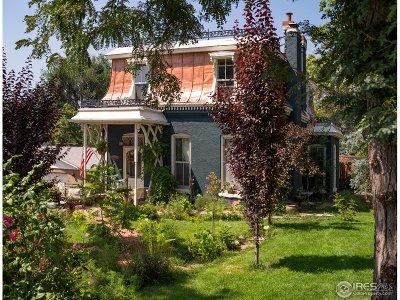 Longmont Single Family Home For Sale: 255 Pratt St