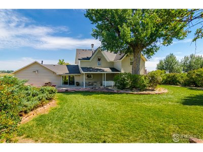Longmont Single Family Home For Sale: 12621 Ute Hwy