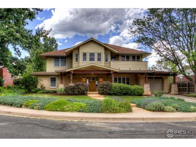 Boulder CO Single Family Home For Sale: $1,895,000