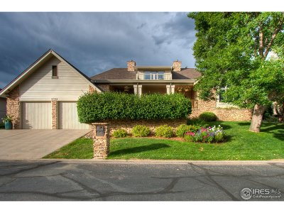 Fort Collins Single Family Home For Sale: 1712 Cottonwood Point Dr
