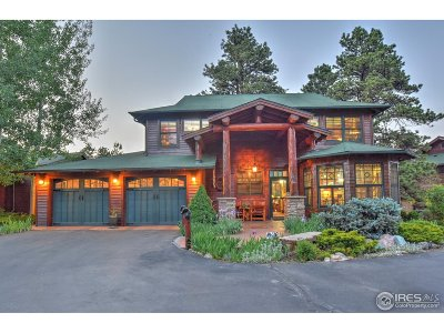 Estes Park Condo/Townhouse For Sale: 665 Riverside Dr