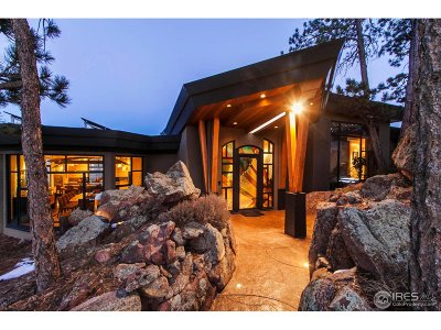 Boulder CO Single Family Home For Sale: $6,800,000