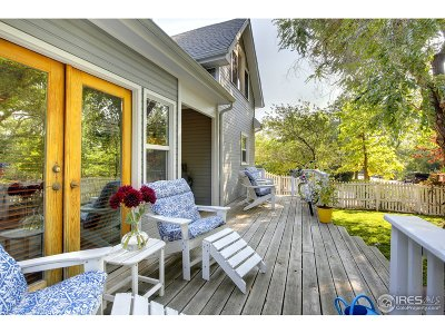 Boulder Single Family Home For Sale: 1927 Bluff St