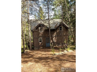 Larimer County Single Family Home For Sale: Buckhorn Rd
