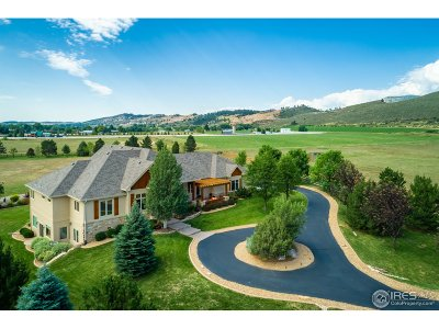 Loveland Single Family Home For Sale: 8742 Llama Ranch Rd