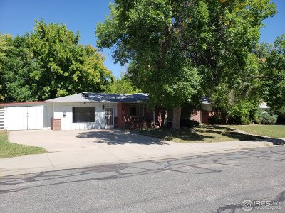 Boulder Single Family Home Active-Backup: 1775 Cedar Ave
