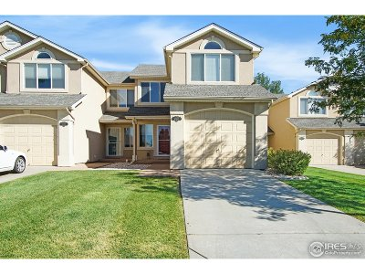 Fort Collins Condo/Townhouse For Sale: 2150 Water Blossom Ln