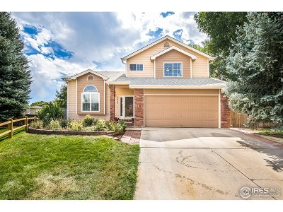 Fort Collins Single Family Home For Sale: 1818 Rutledge Ct