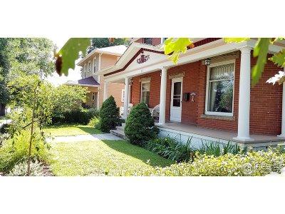 Fort Collins Single Family Home For Sale: 311 E Magnolia St