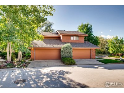 Boulder CO Condo/Townhouse For Sale: $579,000