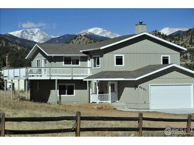 Estes Park Single Family Home For Sale: 2501 Carriage Dr