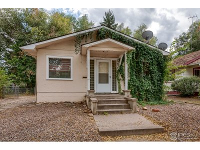 Fort Collins Multi Family Home For Sale: 611 W Mulberry St