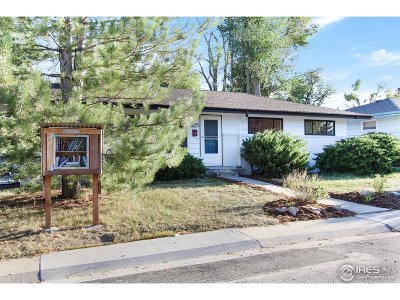 Fort Collins Single Family Home For Sale: 1825 Crestmore Pl