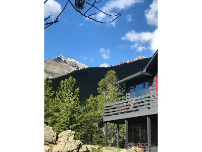 Estes Park CO Single Family Home For Sale: $849,000