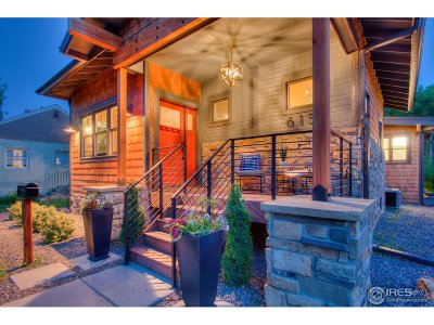 Fort Collins Single Family Home For Sale: 615 E Plum St