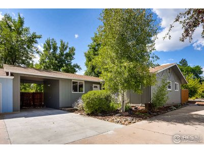 Boulder Single Family Home For Sale: 4535 Beachcomber Ct