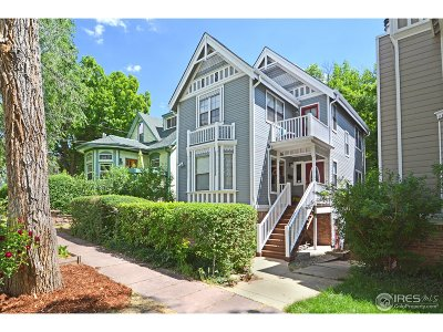 Boulder CO Single Family Home For Sale: $1,275,000