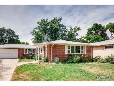 Longmont Single Family Home For Sale: 1227 Grant St