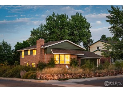 Boulder Single Family Home For Sale: 1093 Yale Cir