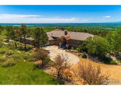 Boulder County Single Family Home For Sale: 6635 Rabbit Mountain Rd