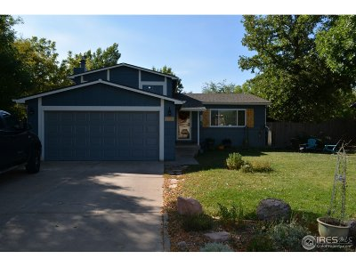 Fort Collins CO Single Family Home For Sale: $365,000