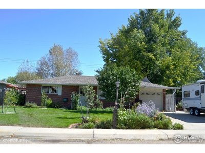 Longmont Single Family Home For Sale: 1518 Ashcroft Dr
