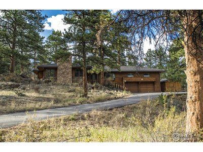 Estes Park Single Family Home For Sale: 1085 Pine Knoll Dr