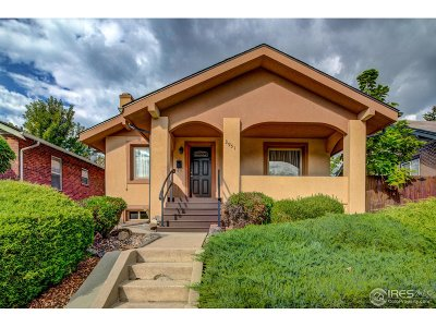 Denver Single Family Home For Sale: 3951 Vallejo St