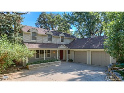 Boulder CO Single Family Home For Sale: $2,150,000
