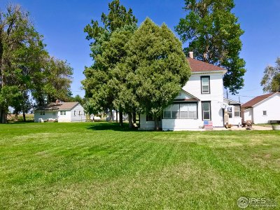 Fort Morgan Single Family Home For Sale: 22531 Us Highway 34