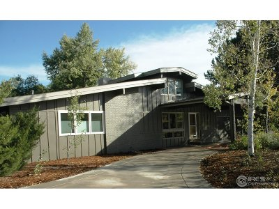 Boulder Single Family Home For Sale: 5242 Spotted Horse Trl