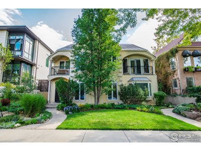 Denver Single Family Home For Sale: 346 Madison St