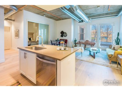 Boulder Condo/Townhouse For Sale: 3301 Arapahoe Ave #105