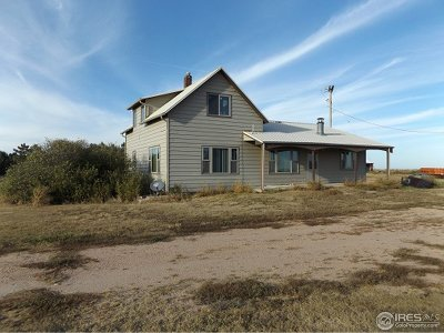 Yuma County Single Family Home For Sale: 46326 County Road L